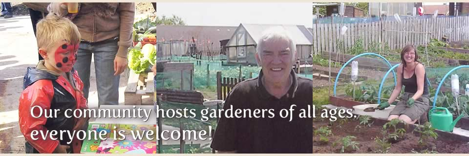 Our commnity hosts gardeners of all ages, everyone is welcome!